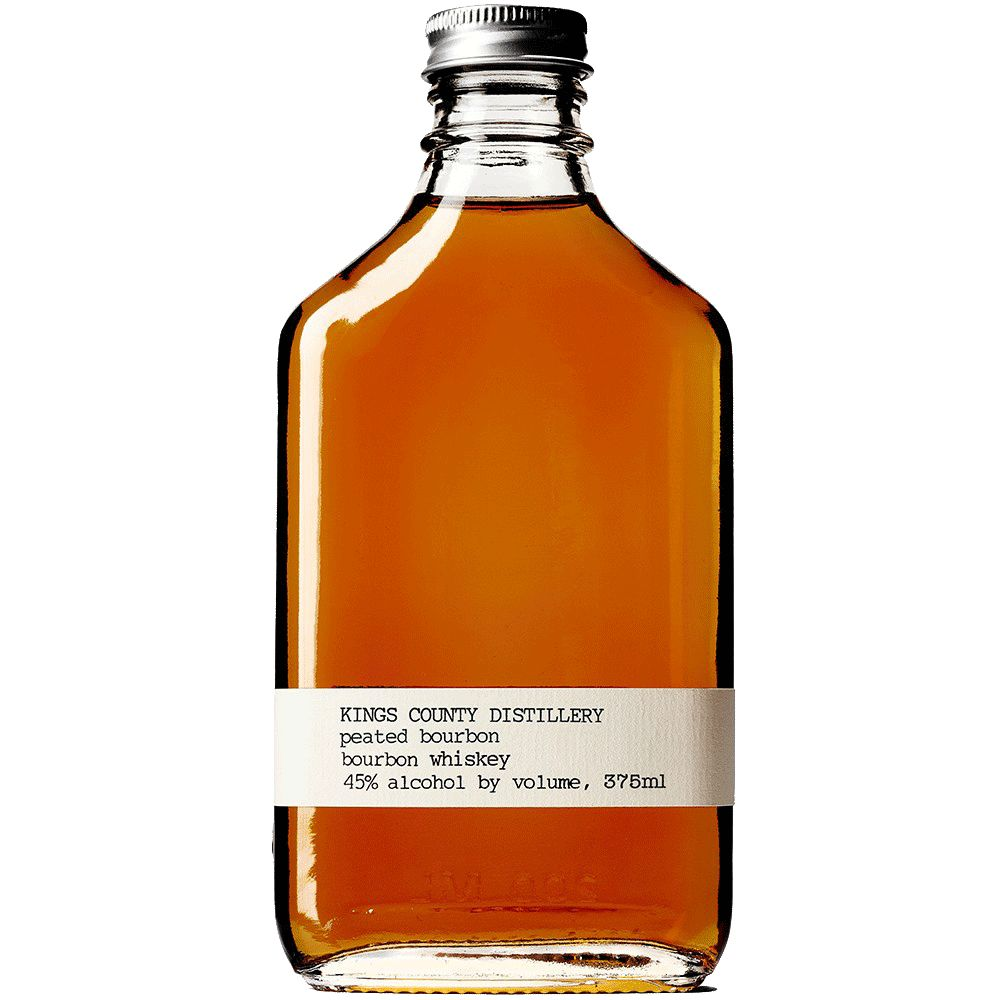 Spirits Kings County Distillery Peated Bourbon 375ml