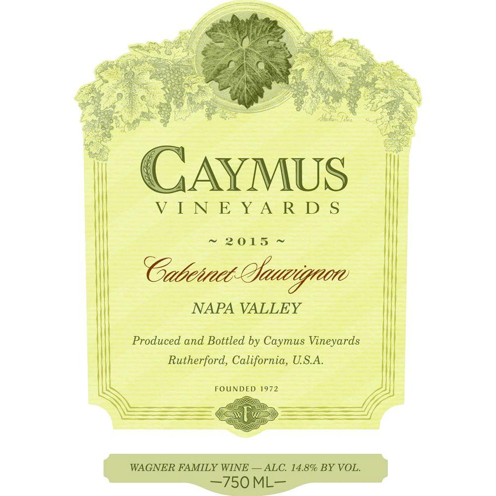 Wine Caymus Cabernet Sauvignon Napa Valley 2016