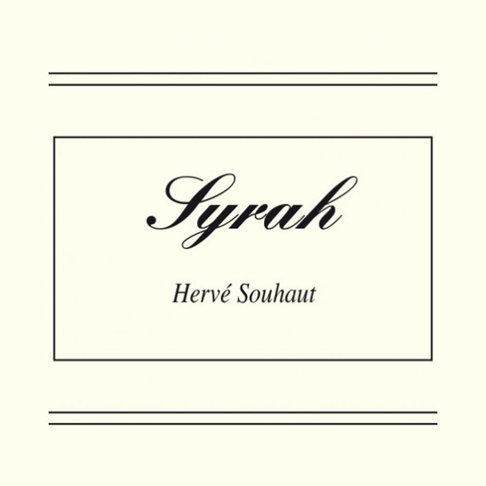 Wine Herve Souhaut Syrah 2017