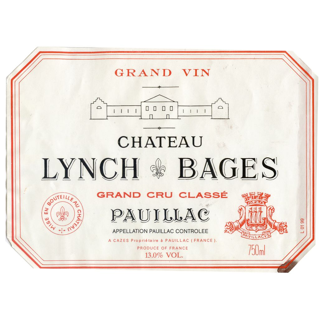 Wine Ch. Lynch Bages 2002 3L