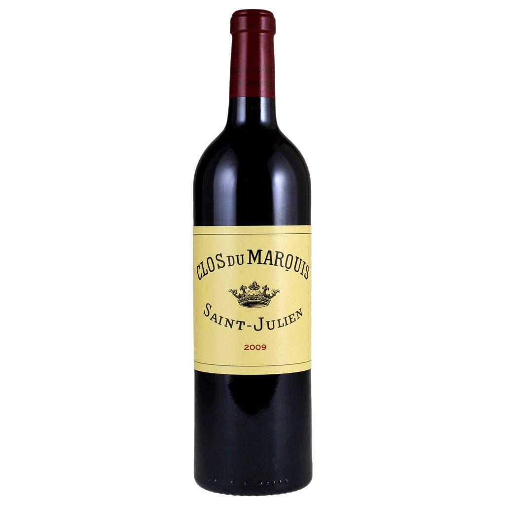 Wine Chateau Leoville-Las Cases, Clos du Marquis Saint-Julien 2009