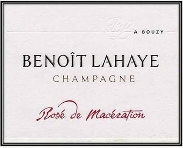 Sparkling Benoit Lahaye Rose de Maceration Champagne