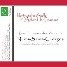 Wine Domaine Bertrand Machard et Axelle Machard de Gramont Nuits Saint Georges 'Les Terrasses des Vallerots' 2015