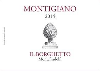 Wine Il Borghetto Toscana Sangiovese Montigiano 2014