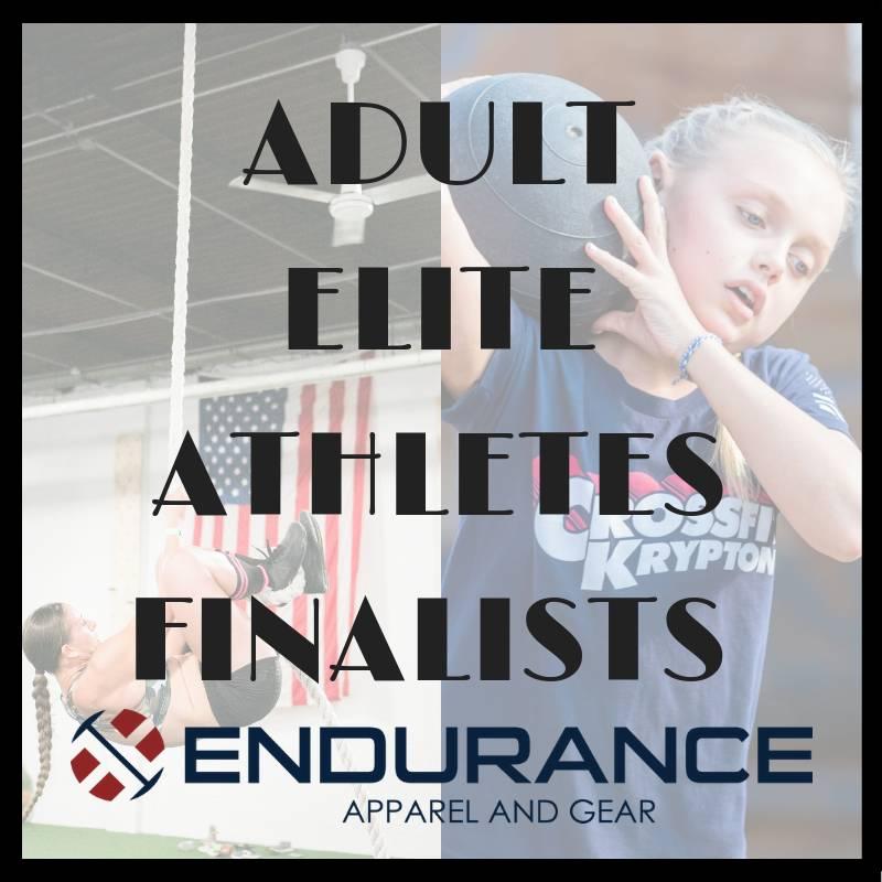 Adult Fall Elite Athlete Finalist