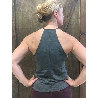 Endurance Apparel & Gear Women Trap High Neck Tank Grey