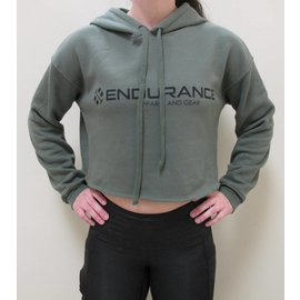 Endurance Apparel & Gear Endurance Crop Hoodies Hunter