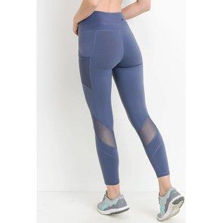 Bare Foor Apparel Dot Mesh Legging - 5 Colors