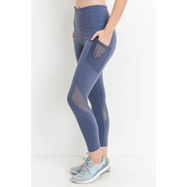 Bare Foor Apparel Dot Mesh Legging - 5 Colors