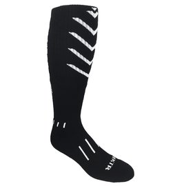 Moxy Knee-High Black w/ White VEKTRCush.