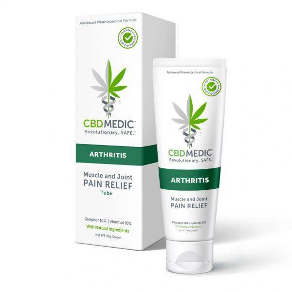 cbd lotion for arthritis