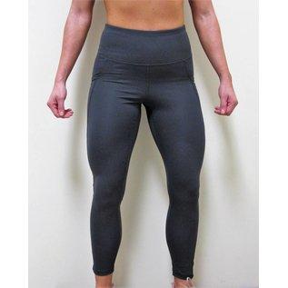 Bare Foor Apparel Dot Mesh Legging - Charcoal