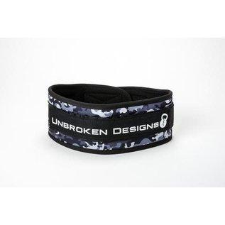 Unbroken Designs Grey Camo Lifting Belt