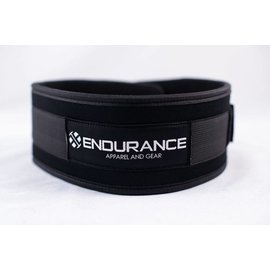 "Endurance Apparel & Gear Endurance 4"" Black Neoprene Belt"