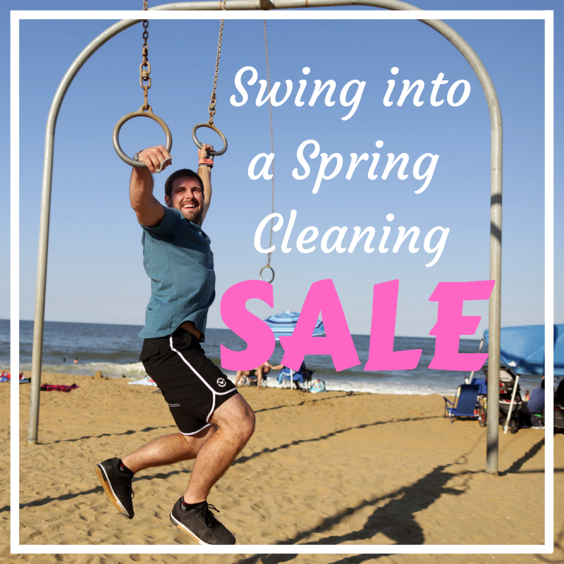 Swing Into a Spring Cleaning Sale