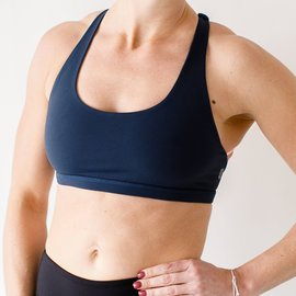 Born Primitive Born Primitive Vitality Sports Bra (Navy Blue)