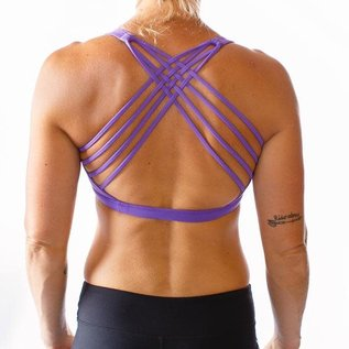 Born Primitive Vitality Sports Bra (Violet Purple)