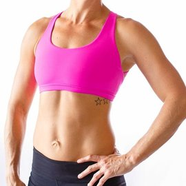 Born Primitive Born Primitive Vitality Sports Bra (Fuchsia)