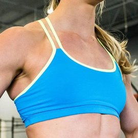 Born Primitive Rhapsody Sports Bra Electric Blue