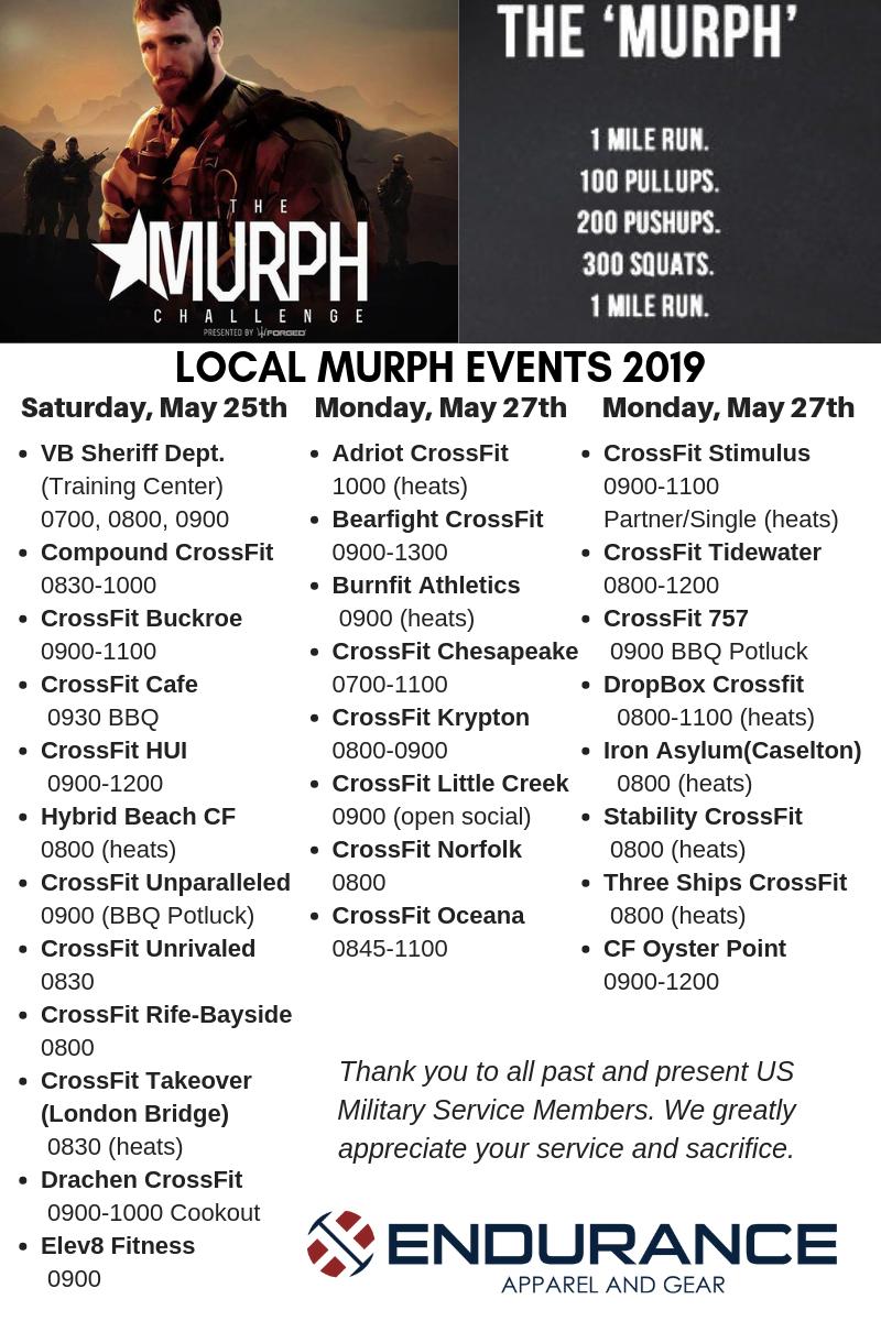 Memorial Day Murph 2019