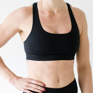 Born Primitive Infinity Sports Bra Black