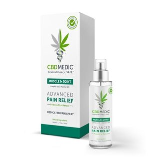 CBDMedic MUSCLE & JOINT MEDICATED PAIN SPRAY