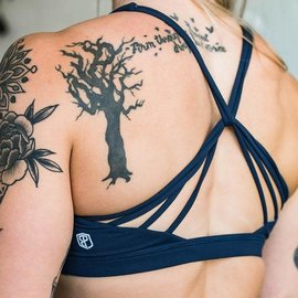 Born Primitive Vitality Sports Bra 2.0 Navy Blue
