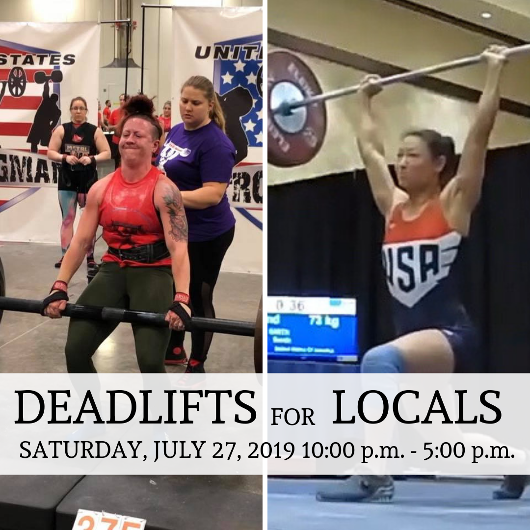 Deadlifts for Locals