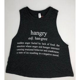 Endurance Apparel & Gear Always Hangry W Muscle Crop