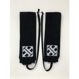 Endurance Apparel & Gear Solid Black Wrist Wraps