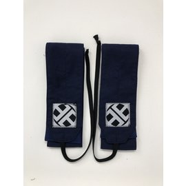 Endurance Apparel & Gear Navy Solid Wrist Wraps