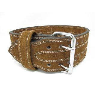 "Endurance Apparel & Gear Leather Buckle Lifting Belt 4"""