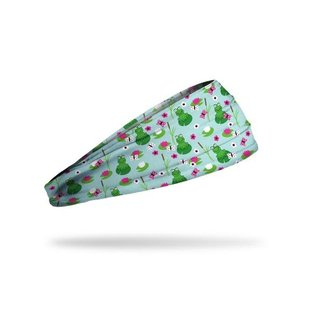 Junk Leaping Lillypads headband