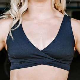 Born Primitive The Rari Sports Bra (Scudds-Black)