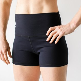 Born Primitive New Heights Booty Shorts Black 3.5
