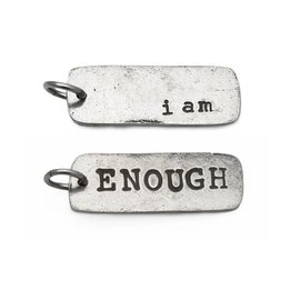 Fashletics I am Enough Charm Back: I am Enough Front: Enough