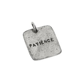 Fashletics Patience I know What I Will Become Charm