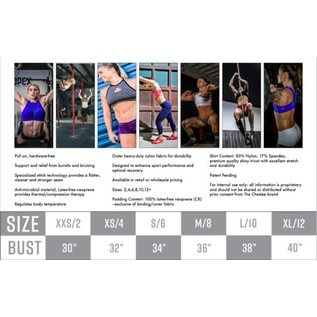 f6a37b6d15d4a The Tiffany Chestee Sports Bra - Endurance Apparel and Gear