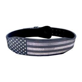"Unbroken Designs Star and Stripes 4"" Weighlifting Belt"