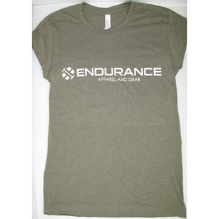 Endurance Apparel & Gear Define Endurance Heather Olive Tee