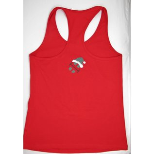 Endurance Apparel & Gear Ugly Endurance Christmas Red Racerback