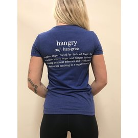 Endurance Apparel & Gear Always Hangry Navy Triblend V Neck