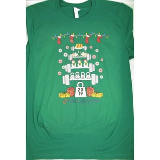 Endurance Apparel & Gear Ugly Endurance Christmas Tee Green