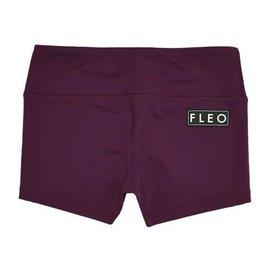 Fleo Plum Mid Rise