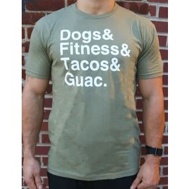 Wags and Weights Taco Feels Tee