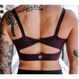 Born Primitive Your Go to Sports Bra (Plum)