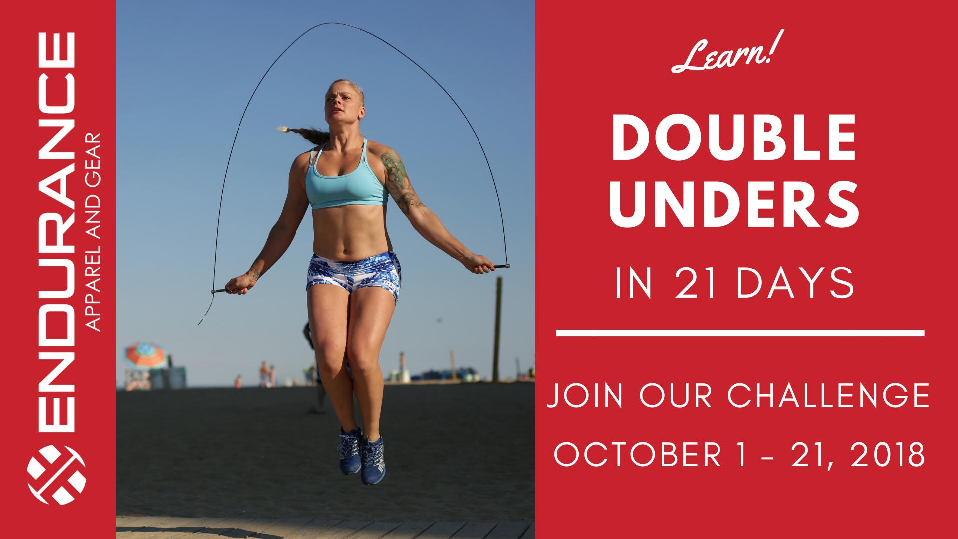 Learn Double Unders in 21 Days