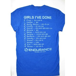 Endurance Apparel & Gear I'm In it for the Girls Heather True Royal