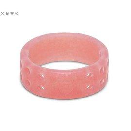 Qalo Women's Qalo Perforated Ring