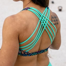 Born Primitive Vitality Sports Bra (Tropical Escape)